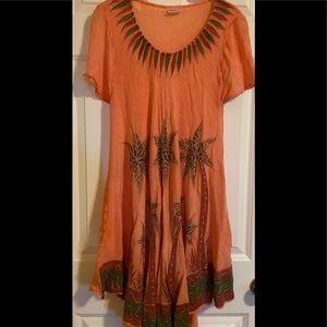 EUC India Boutique summer dress.